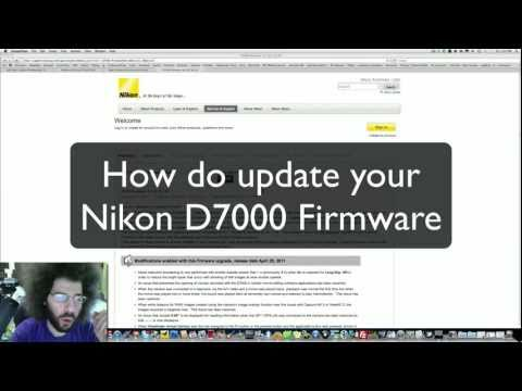 How to Upgrade the Nikon D7000 Firmware