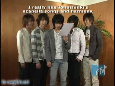 TVXQ Begin PV making - MTV M-Size (English Subbed) 2006.06.05
