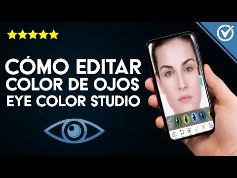 Cómo Editar y Cambiar el Color de mis Ojos en Android o iPhone con Eye Color Studio