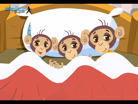 Three in the Bed  English Songs for Babies