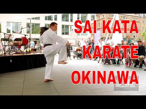 KARATE SAI Kata Okinawa