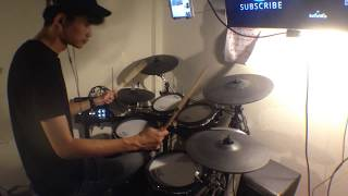 STAY (Ost.Stay ซากะ..ฉันจะคิดถึงเธอ) - Getsunova drum cover เบอร์เวอร์ชั่นมั่วหลุด ☀️❤️🥁