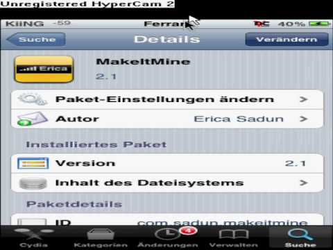 iphone ipod touch display name ndern buchstaben statt. Black Bedroom Furniture Sets. Home Design Ideas