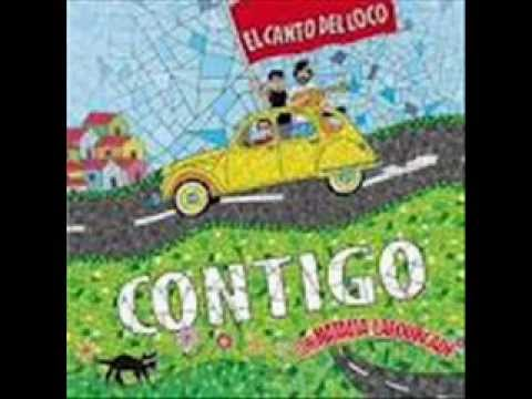 El Canto del Loco - Contigo (with lyrics) - YouTube