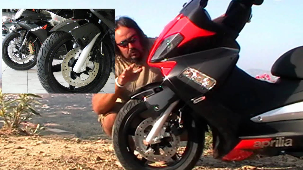 aprilia sr max 300 i e kokkina fegaria test youtube. Black Bedroom Furniture Sets. Home Design Ideas