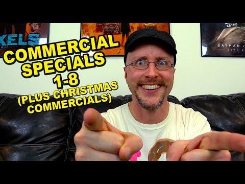 Nostalgic Commercial Specials 1-8 & Christmas Commercials - Nostalgia Critic
