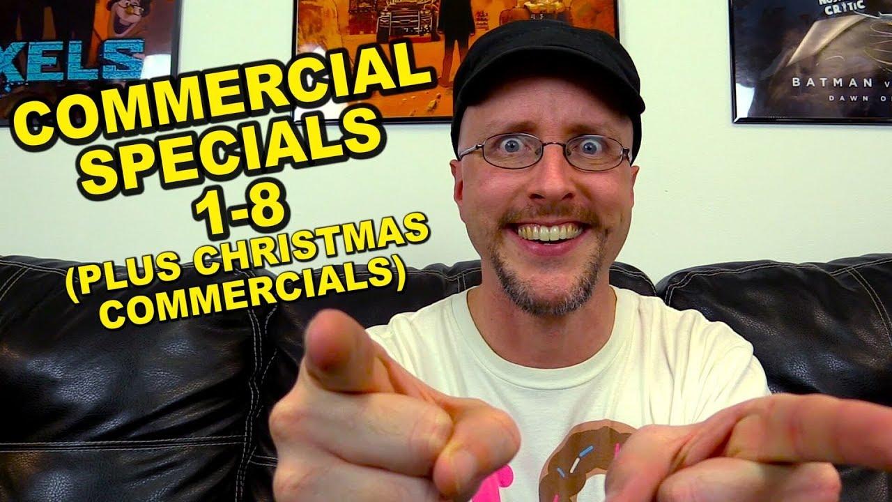 Nostalgic Commercial Specials 1-8 & Christmas Commercials ...