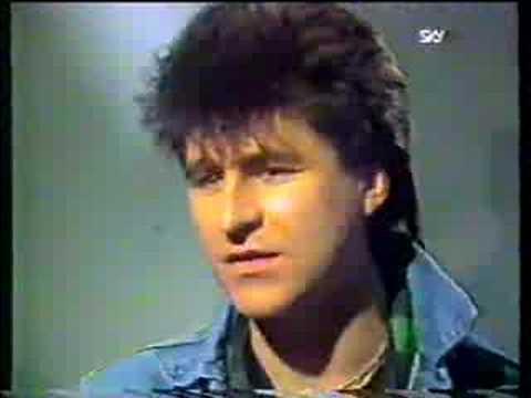 Mark Burgess, The Chameleons, Canadian TV, 1987