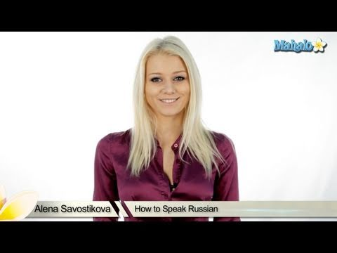 How to Speak Russian Welcome Video