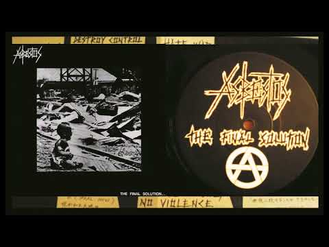 ASBESTOS - The Final Solution.... (Japan, 1989, Full ALbum)