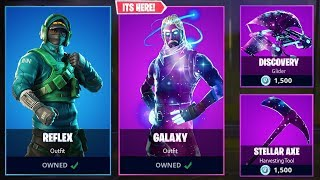 EXCLUSIVE Galaxy Skin in Fortnite Item Shop? (EXCLUSIVE SKINS in Item Shop EXPLAINED)