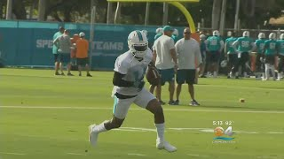 Dolphins Offense Shines During First Practice Of Training Camp