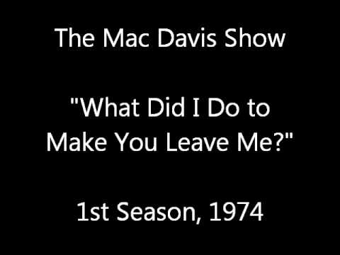 Mac Davis Show, Audience Improv (audio only)