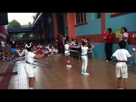 ประกวดเต้นฮูล่าฮูบ รร.กรพิทักษ์ศึกษา ทีม Power Dance
