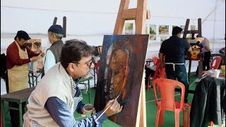 BATOR CANVAS ART GALLERY TOPIC ON SAVE GIRL CHILD