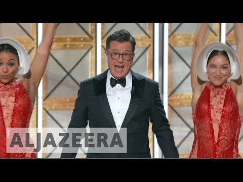 Download Youtube: Emmy awards 2017: Political satire wins the night