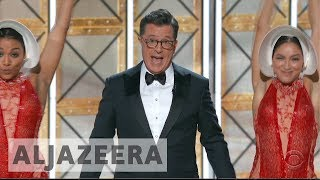 Emmy awards 2017: Political satire wins the night
