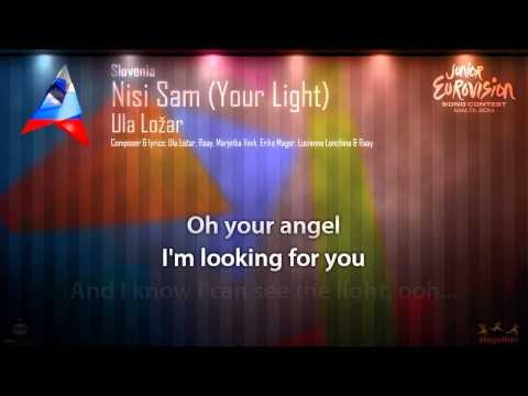 "Ula Ložar - ""Nisi Sam (Your Light)"" (Slovenia) - [Instrumental version]"