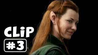 """Evil is Stronger than Us"" THE HOBBIT 2 The Desolation of Smaug Movie Clip # 3"