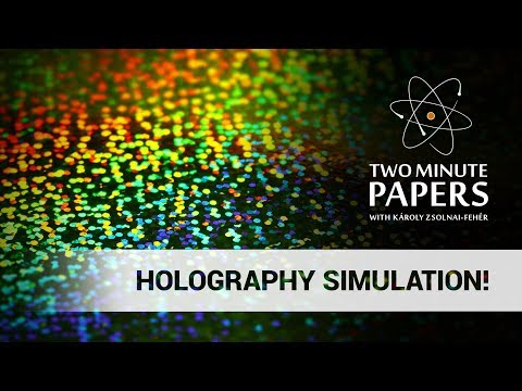Real-Time Holography Simulation!
