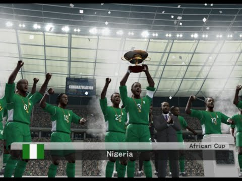 PES 6 (PS2) Nigeria vs Togo - Africa Cup of Nations - FINAL