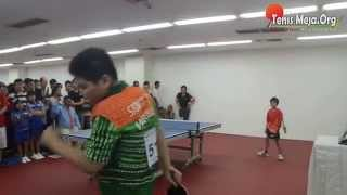 video tenis meja andre btp vs marcello li walikota yogya cup 2014