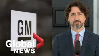 Coronavirus outbreak: Trudeau government announces deal with GM to produce 10 million masks  | FULL