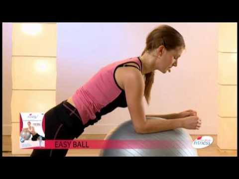 exercices de gym avec ballon youtube. Black Bedroom Furniture Sets. Home Design Ideas