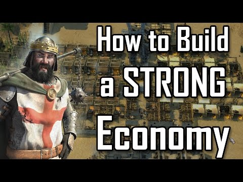 Stronghold Crusader 2 - How to Build a STRONG Economy | Commentary Guide [1080p/HD]