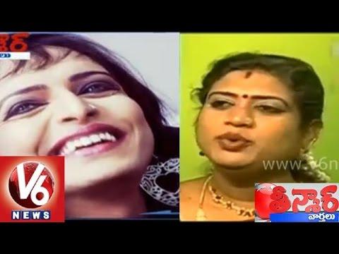 First transgender anchor in Telangana news channel before Lotus channel - Teenmaar News