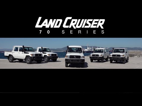 2018 Land Cruiser 70 Series Test Drive