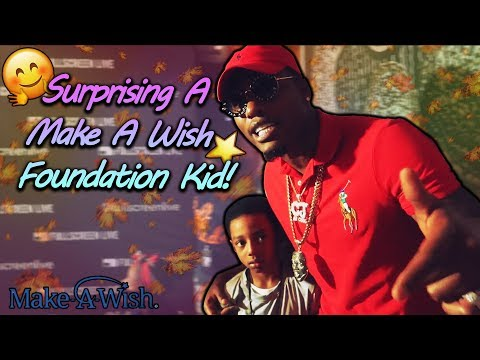 Surprising A Make A Wish Foundation Kid!