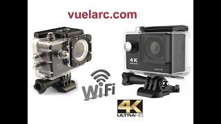 Action Camara HD VS Camara 4K  Español