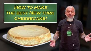 How to make the best New York Cheesecake from scratch - Mom&#39s recipe.