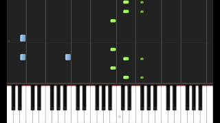 Lady Gaga - Paparazzi Acoustic Piano Tutorial