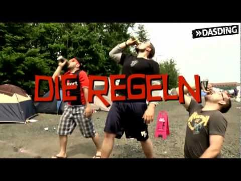 Flunkyball, Spiel für Champions!   DASDING bei Rock am Ring 2012