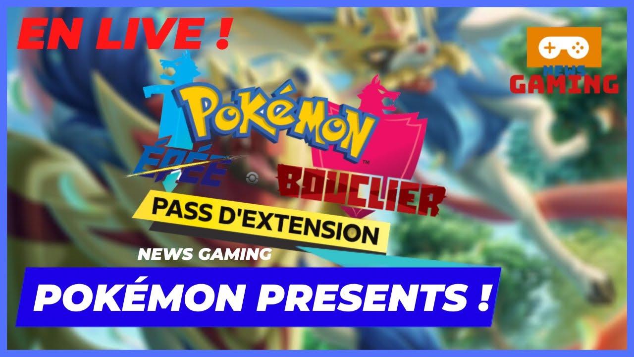 RÉACTION POKÉMON PRESENTS ! - NEWS GAMING LIVE (REDIFF)