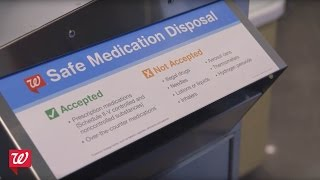 Walgreens Announces Safe Medication Disposal Kiosks and Easier Access to Naloxone