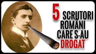 5 Scriitori Români Care S-au Dr0gAt