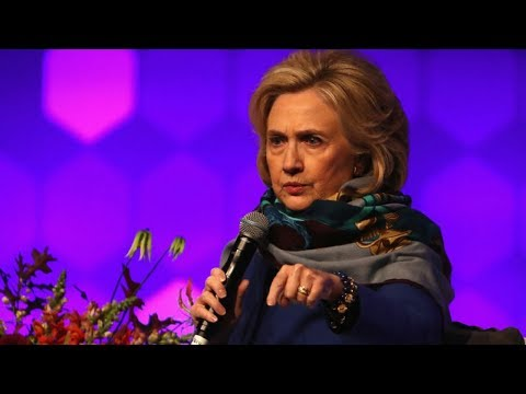 Hillary Clinton Blames Her Loss on Misogyny … Again!!!