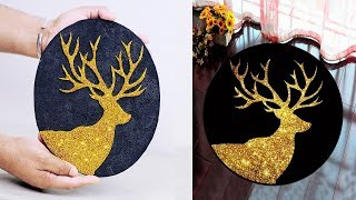 wall hanging craft ideas // Deer craft ideas // Deer Showpiece