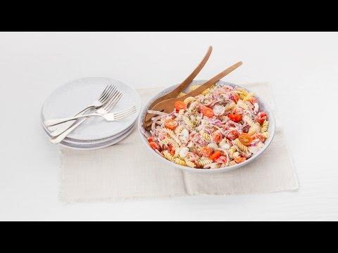 Pastasalade met tomaat en tijm – Allerhande