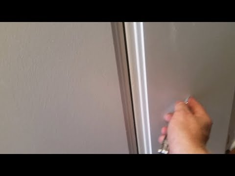 Getting Rid Of Paint Drips Imperfections In MDF Doors Baseboards DIY Work Out