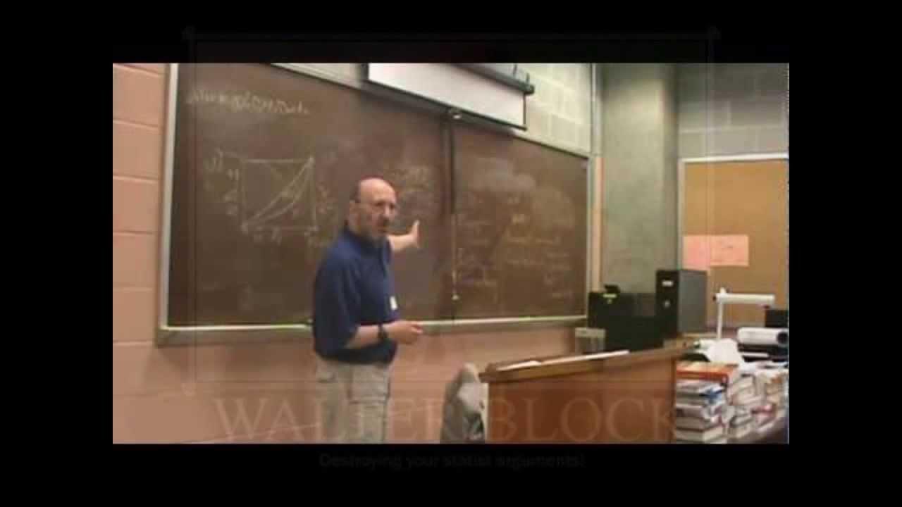 Walter block bitcoins binary options strategies 2021 calendar