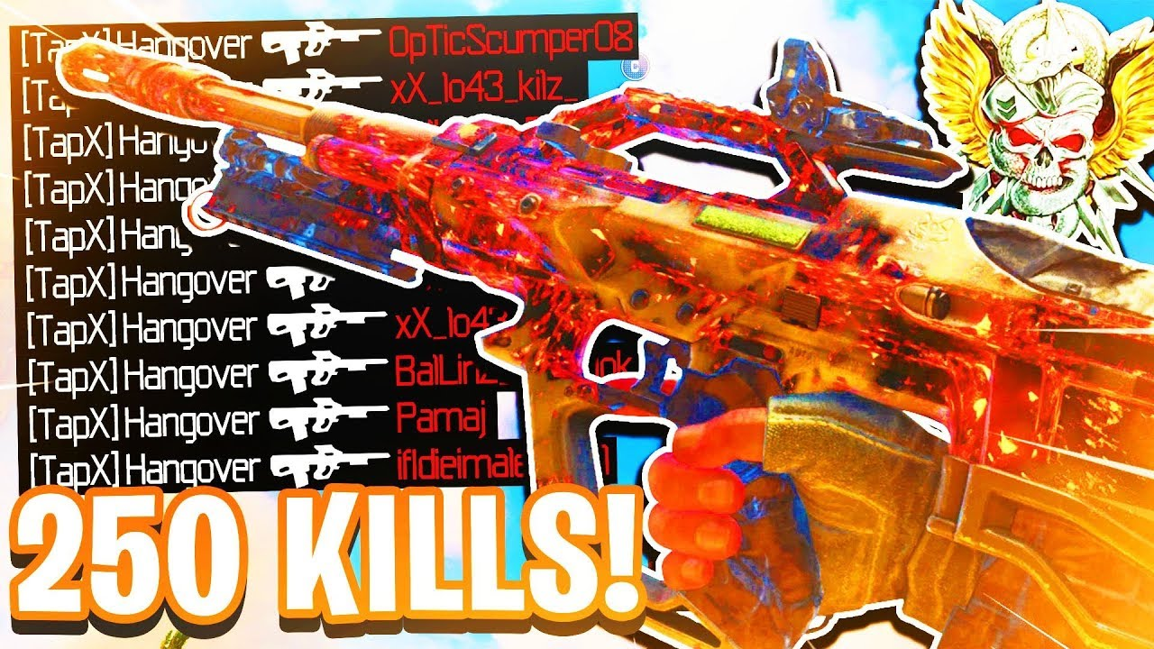 Black Ops 4 INSANE 250+ KILLS! COD BO4 CRAZY 250+ GAME PLAY! (Nuclear Game Play!)