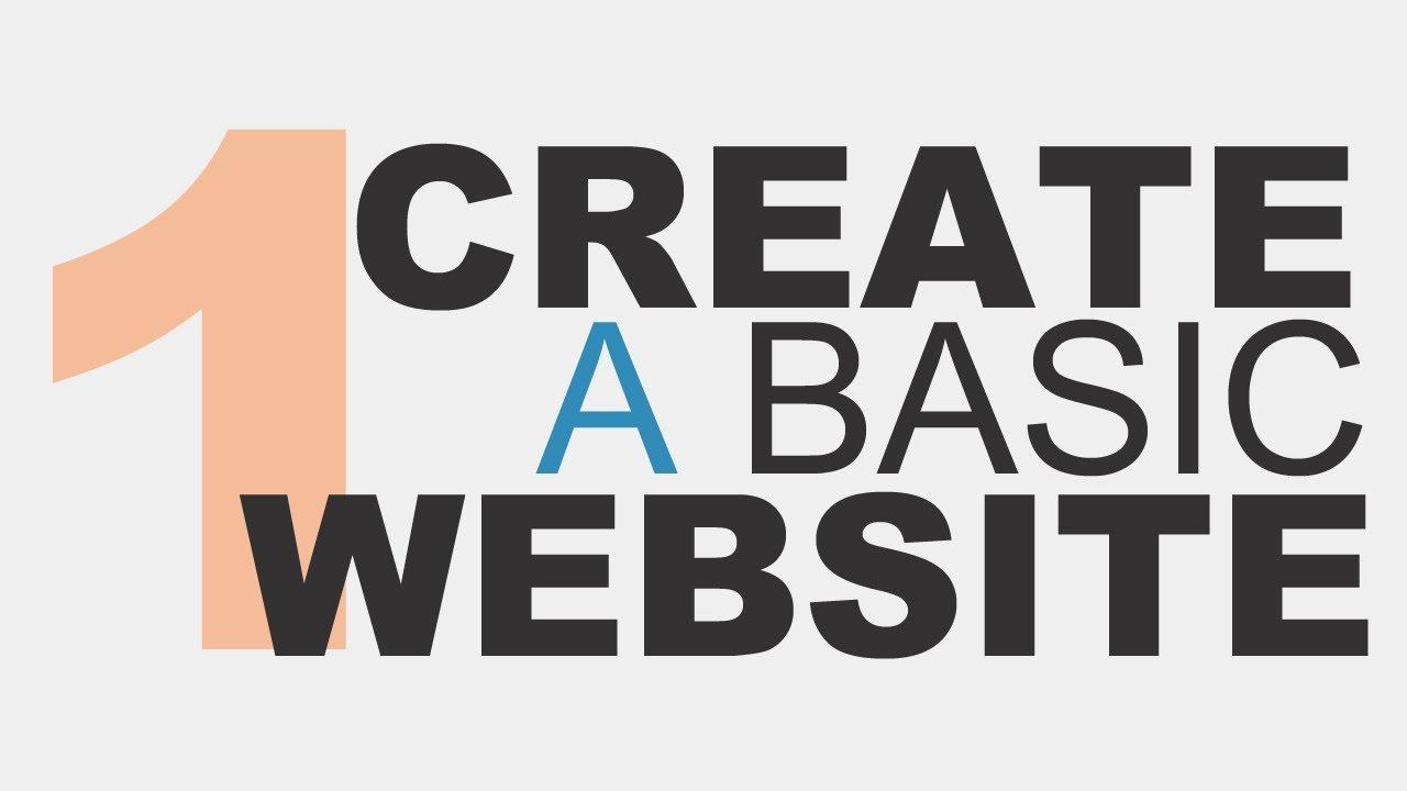 how to create a website using html5 and css3