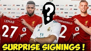 Liverpool TRANSFER News-5 Players Liverpool Need To Regain DOMINANCE (2018) ft Lemar Kovacic Pulisic