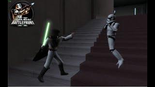 Star Wars Battlefront II - The Force Awakens Mod Coruscant Jedi Temple (LightSide)