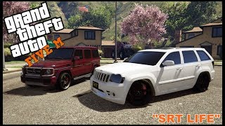 GTA 5 ROLEPLAY - JEEP SRT VS G-WAGON STREET RACE BUSTED - EP. 211 - CIV