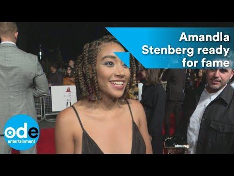 The Hate U Give: Amandla Stenberg ready for fame